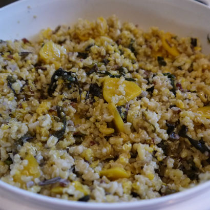 Quinoa, Golden Beet Salad