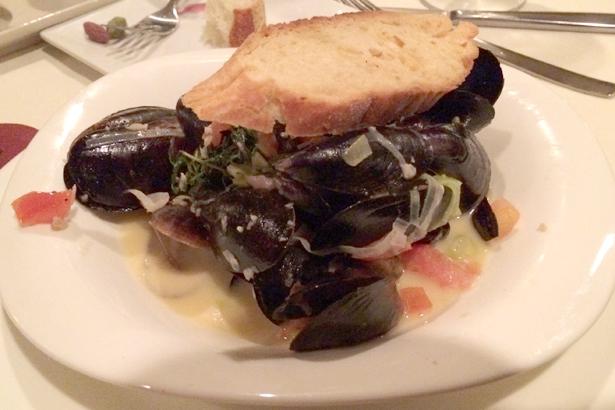 Prince Edward Island Mussels Provencal