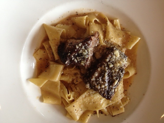 Parpadelle and Short Ribs!