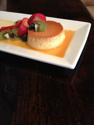 Passion fruit flan 2