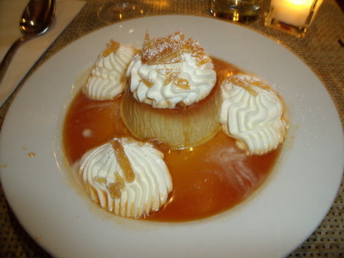 Ginger Infused Flan