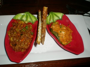 Roasted Peppers Two Ways