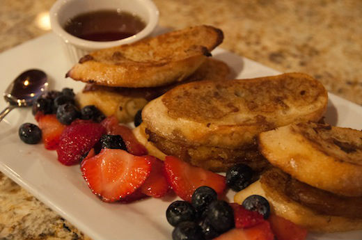 Plantain-Stuffed French Toast