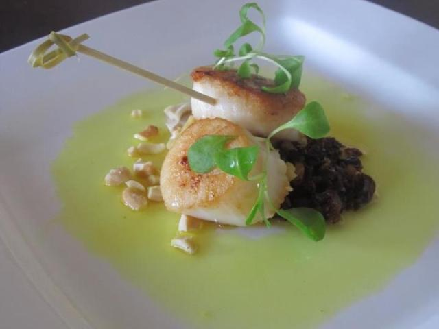Ramiro chef table scallops