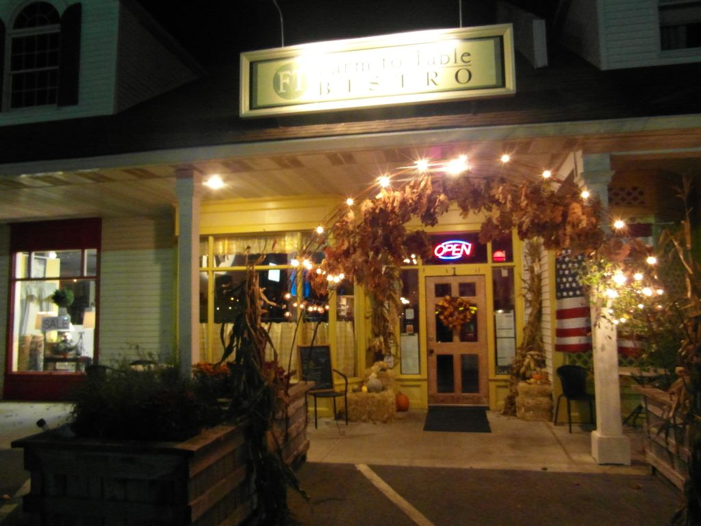 ... Week I Ventured To Farm To Table Bistro In Fishkill, NY. We Brought My  Mother Along For This Dining Experience As She Had Never Been Their Either.
