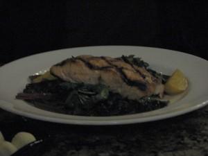 Chipotle Corn Crusted Salmon