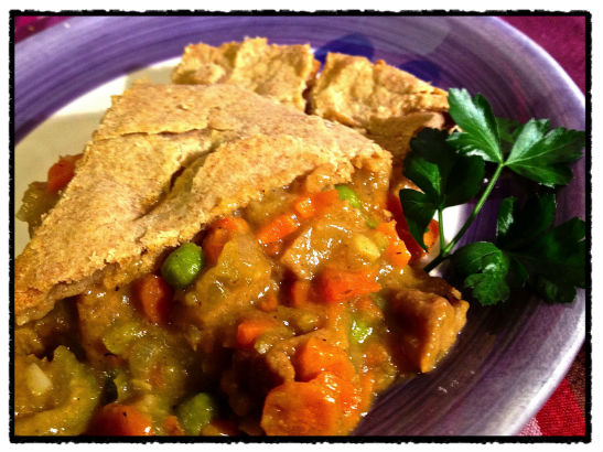 I Eat Plants: Seitan Pot Pie