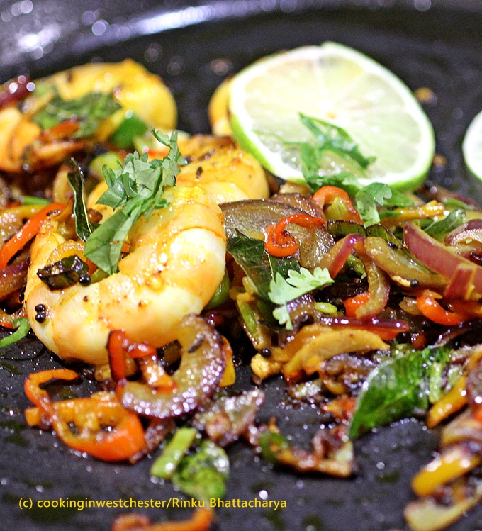 Shrimp Tawa Masala
