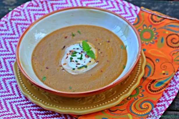 Spices and Seasons – Slow Cooker Turkish Inspired Red Lentil Soup