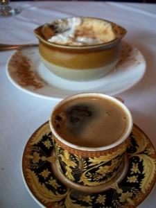 Turkois, cold rice TurkoisRicePudding&Coffee