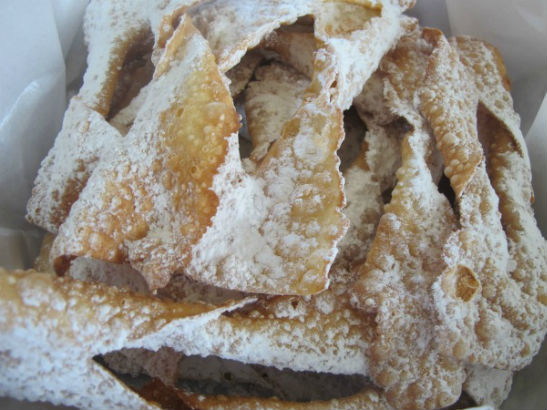 Krusciky (Polish Angel Wings Cookies) by Lisa and Julia Cook