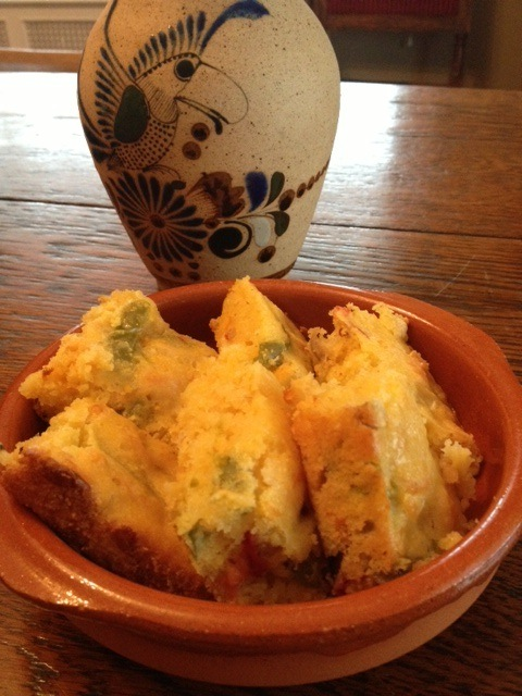 This Sopa Paraguaya—Paraguayan Cheesy Cornbread—is adapted from ...