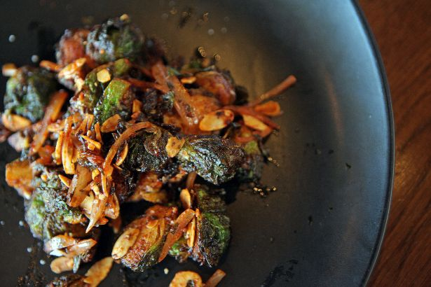 Give Brussels Sprouts a Holiday Zing