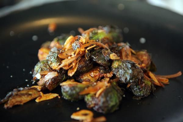 Mogan Anthony's Brussels Sprouts