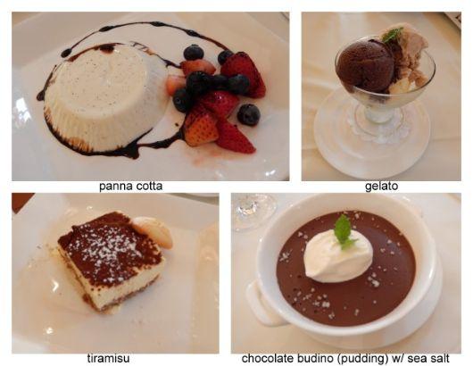 caterina dessert