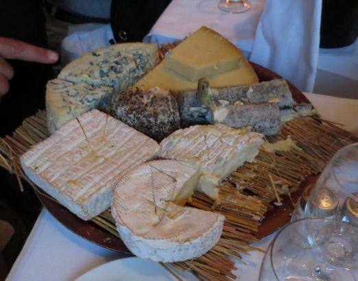 A la biche au bois cheese course