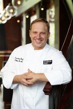 Ethan Kostbar, chef at Moderne Barn, has fond memories of Rosh Hashana meals.