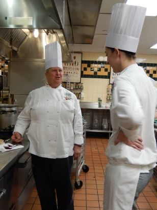 CIA chef Polenz and student Nicole