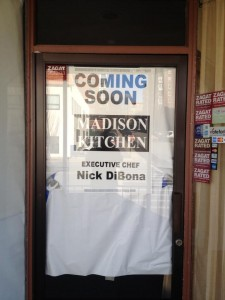 Madison Kitchen coming soon