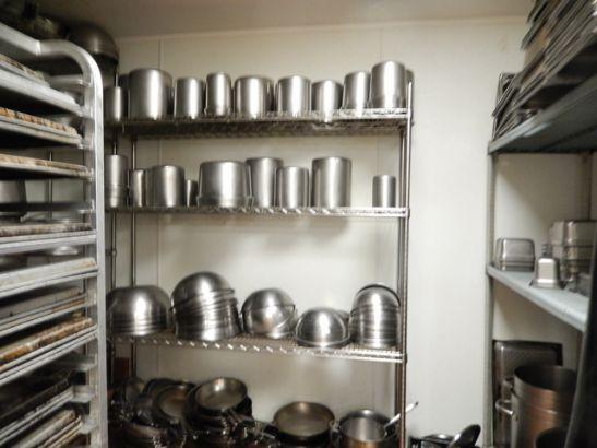CIA kitchen equipment room