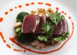 farmer and the fish tuna