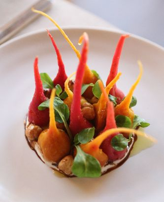 inn at pound ridge by jean-georges baby beets