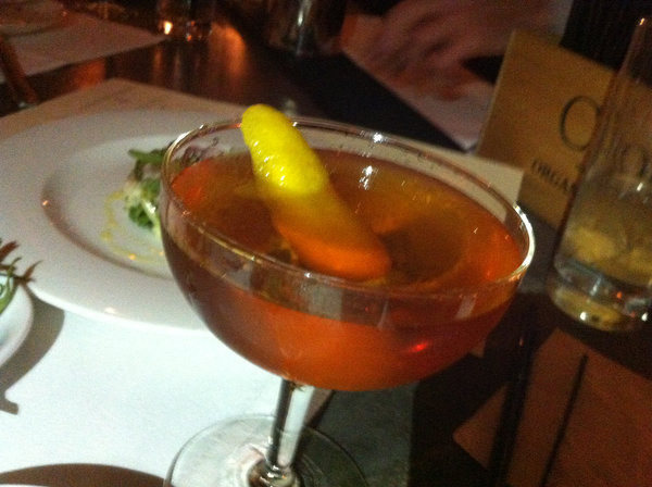 Martinez (Clark's version) at Harper's in Dobbs Ferry