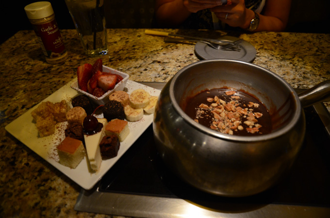 The Melting Pot Chocolate Fondue