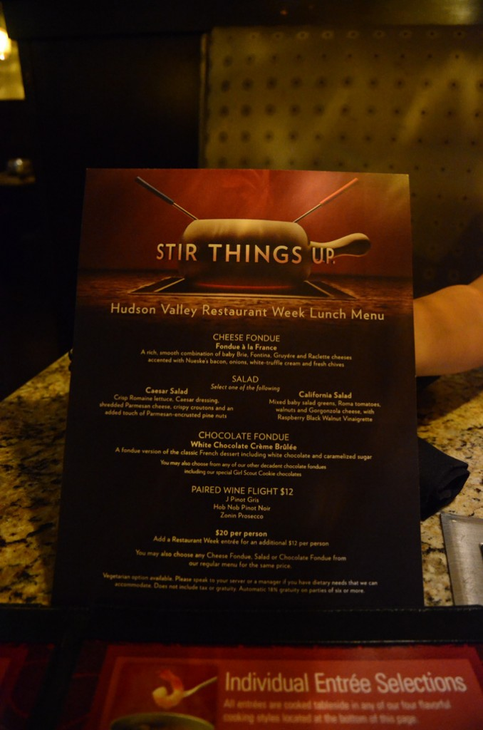 The Melting Pot HVRW menu