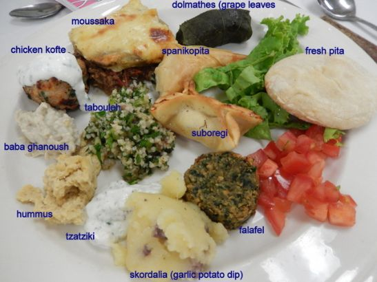 my greek and turkish plate