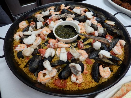 paella at CIA boot camp