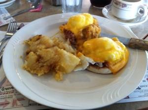Thornwood Coach Diner Eggs Benedict