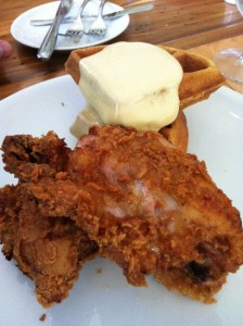 Chicken and Waffles - Haymount House