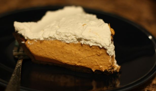 pumpkin chocolate chiffon pie