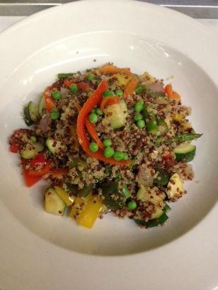 quinoa paella 1