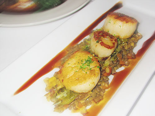 Roasted Sea Scallops from River City Grille