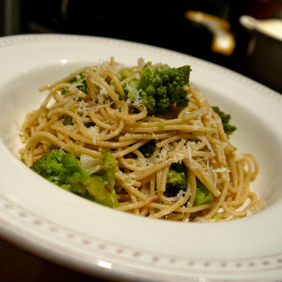 Romanesco Pasta Dish by Seasonal Chef Maria Reina