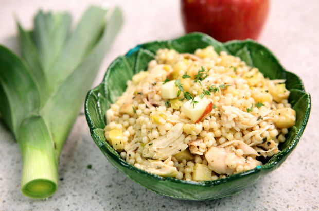 Apple, Chicken and Couscous Salad: Seasonal Chef Recipe