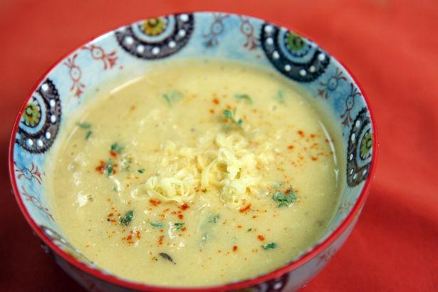 Smoked Cauliflower Soup, Seasonal Chef, Maria Reina