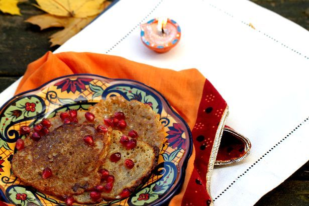 spiced indian pancakes recipe