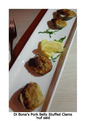 Madison Kitchen stuffed clams