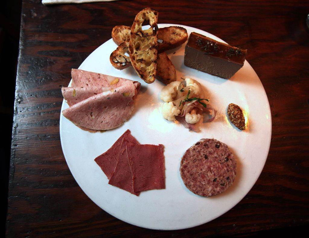 Charcuterie at The Cookery