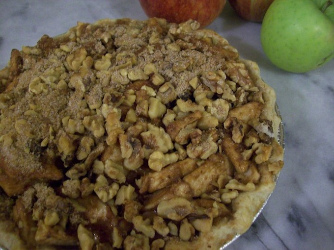 Dave Tuttle's Apple Walnut with Bourbon Raisins