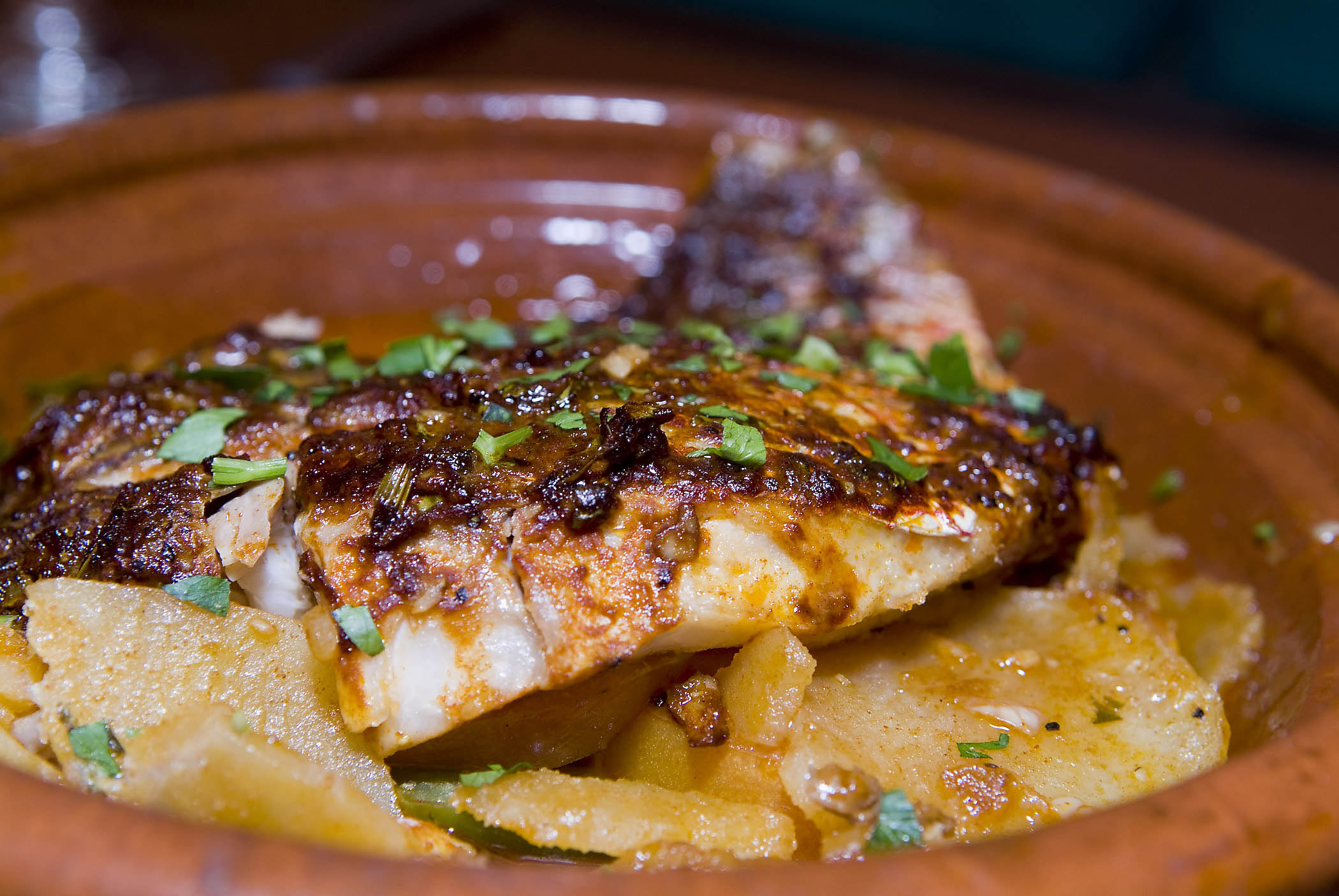 Red Snapper Tagine